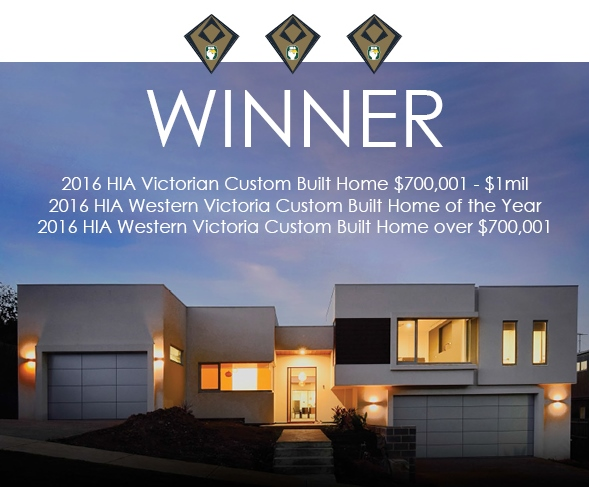 Signature Homes Geelong Wins State Award