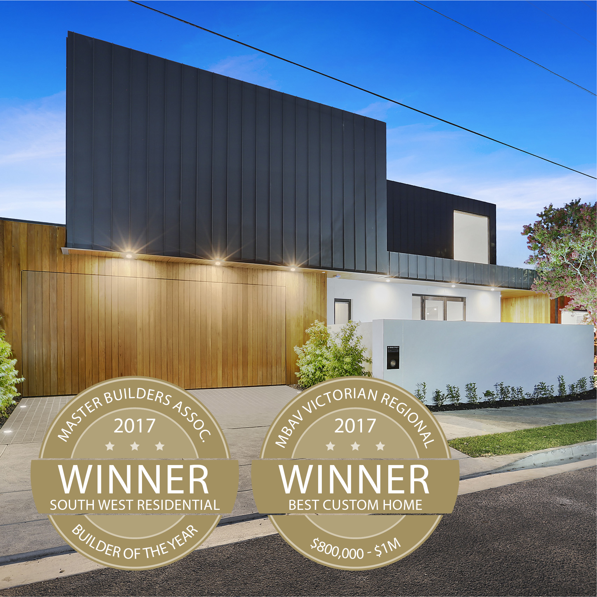Signature Homes Geelong receive top honours, named 2017 South West Master Builder of the Year